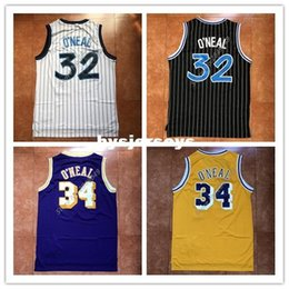 c0125193c0b9 New Mens  32 Shaquille O Neal Top Basketball Jersey US Size XS-6XL Stitched  Best Quality vest Jerseys Ncaa