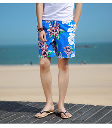 $enCountryForm.capitalKeyWord Australia - Fashion Designer Shorts New Summer Casual Loose Men's Pants New Breathable Floral Print Beach Holiday Shorts for Men Clothing L-3XL
