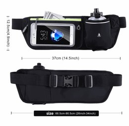 $enCountryForm.capitalKeyWord NZ - Multifunction Waterproof belt Packs Small Travel sport Outdoor running Belt Bag Men Women Money Phone kettle Waistband