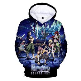 China Anime FAIRY TAIL 3D Print kpop Hoodies Sweatshirt boys girls high street Casual long sleeve autumn Pullovers FAIRY TAIL Clothes cheap fairy tail hoodie suppliers