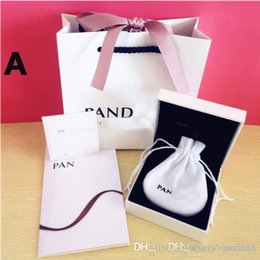 Pandora Jewelry Sets Australia - Super Quality Lover Hearts Fashion Jewelry Boxes Packaging set For Pandora Charms T carter Swar brand Bracelet Silver Original box Gift bags