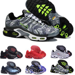 Red button design online shopping - 2018 Classic air tn shoes New Design men tn casual running shoes for tn requin cheap Breathable Mesh black white red trainer sports shoes JK