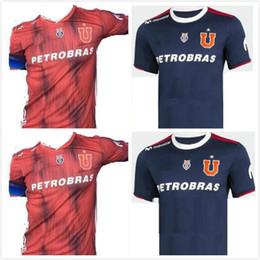 d80ca67755d 2019 top quality Universidad de Chile home soccer jerseys SOTELDO HENRIQUEZ  BEAUSEJOUR ECHEVERRIA UBILLA 18 19 20 JERSEY KIT FOOTBALL SHIRT