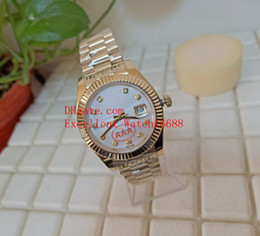 buy watches 2020 - Hot buy Mens Watches 41 mm 126333 179138 278278 18k Yellow Gold Pearlmaster White Diamond Dial Asia 2813 Movement Automa