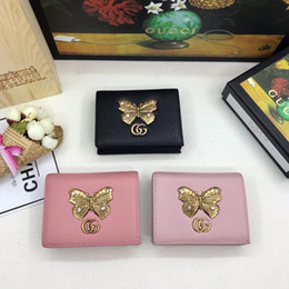 Business change holder online shopping - Women s wallet European and American classic fashion style a variety of color options short money change card bag free of freight G089