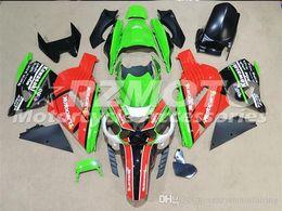 $enCountryForm.capitalKeyWord UK - 3 Free gifts New ABS bike Fairing Kits 100% Fitment For Kawasaki Ninja ZX14R 2006 2009 2011 10R 06 07 08 09 10 06-11 Green Red Black V3