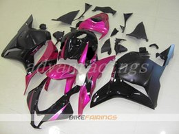 Black Pink Honda NZ - 3gifts High quality New ABS motorcycle fairings fit for HONDA CBR600RR F5 2009 2010 2011 2012 09 10 11 12 600RR CBR600 nice pink black