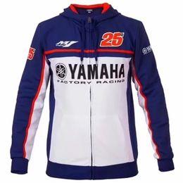 Cross Sweatshirt Hoodie Australia - mens motorcycle yamaha hoodie racing moto riding hoody clothing jacket men jackets cross Zip jersey sweatshirts windproof coat