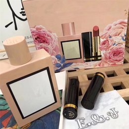 $enCountryForm.capitalKeyWord Australia - Newest creed Lipstick and perfume three piece set high quality cosmetic kit with Gift Box free shipping.