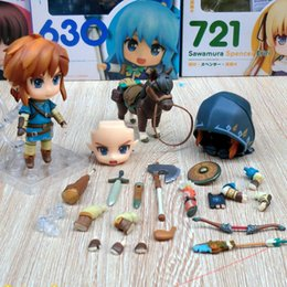 $enCountryForm.capitalKeyWord Australia - Hot Selling Good Smile Nendoroid Link Zelda Figure Breath of the Wild Ver DX Edition Deluxe Version Action Figure In Box