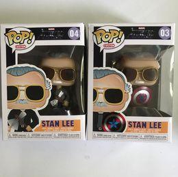 $enCountryForm.capitalKeyWord NZ - Funko POP Marvel STAN LEE 03# 04# Vinyl Action Figure Collectible Model Toy