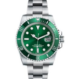 Керамическая рамка Мужские новые зеленые мужчины 2813 Механическая нержавеющая сталь Роскошные автоматические часы с автоподзаводом Спортивные часы с автоподзаводом Наручные часы btime