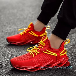 new fashionable shoes NZ - Men sports shoes new breathable woven basketball shoes comfortable fashion fashionable running men large d06