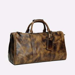 $enCountryForm.capitalKeyWord UK - 2019 men duffle bag women travel bags hand luggage luxury designer travel bag men pu leather handbags large cross body bag totes 55cm