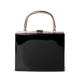 $enCountryForm.capitalKeyWord NZ - Fashion Handbag Women Evening Party Shoulder Bags Top-handle Crossbody Bag Ladies Hard Case Box Clutch Bag