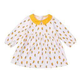 $enCountryForm.capitalKeyWord UK - Newborn Baby Girl Dress Autumn Long Sleeve Print Dresses For Girls Cotton New Print Princess Dress Baby Clothes