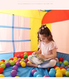 $enCountryForm.capitalKeyWord Australia - Toy Tents,children's tent game house,Children indoor princess house thin crawl tunnel ocean ball dollhouse