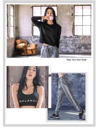 $enCountryForm.capitalKeyWord Australia - Fitness Apparel Clothing Yoga Pants and High Impact Sports Bra and Long Sleeve Hoodies Women Spring Running Three Piece Sets Apparel