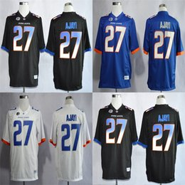 092120c869c Custom Mens Womens Kids Boise State Broncos 27 Jay Ajayi Black Blue White  Cheap Best Quality Stitched Any Name&No. College Football Jerseys