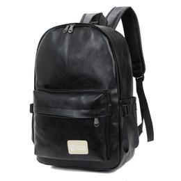 Large Backpacks For Men NZ - good quality Backpack Men Pu Leather Backpacks For Teenage Girls School Bags Multifunction Large Capacity Travel Backpack Mochila