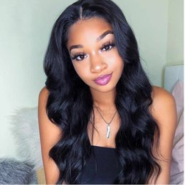 peruvian body wave full lace wig NZ - PAFF Full Lace Human Hair Wigs For Women Peruvian Virgin Hair Body Wave Glueless Lace Front Wigs Preplucked With Baby Hair
