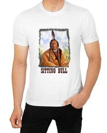 $enCountryForm.capitalKeyWord Australia - Newest 2018 Fashion Stranger Things T Shirt Men Sitting Bull Great War Chief Native American Indian Art T Shirt Painting