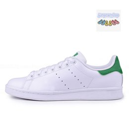balck lace 2019 - Designer Chaussures smith Brand mens womens shoes stan shoes smith with white balck Green pink red Cheap Stan casual Fla