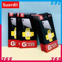 Wholesale Boxes Packaging Australia - Empty Retail Package Paper Boxes Cheaper for Premium 9H Tempered Glass Screen Protector Box Packaging for iphone XS Max XR X 8 Plus Samsung
