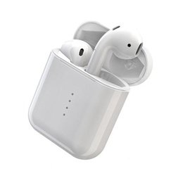 Wireless Noise Cancelling Ear Headphones UK - I10 TWS Wireless BT Earbuds Earphone Noise Cancelling Sports Stereo Headphones with Mic Charge Case PK I7S I8X I9S for iPhone Samsung 10pcs