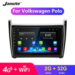 "$enCountryForm.capitalKeyWord Australia - 9"" 2 Din HD Touch Screen Android Car Radio GPS Navigation Auto Audio Stereo Player for Volkswagen VW Polo FM RDS with Frame"