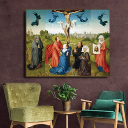 TripTych canvas prinTs online shopping - Triptych by Rogier on Canvas Painting Calligraphy Posters and Prints For Living Room Bedroom Wall Pictures Home Art Decor