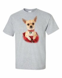 $enCountryForm.capitalKeyWord Australia - NEW Chihuahua Dog In Handbag T Shirt Cute Animal In a Purse Tee