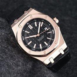 Digital watches mens orange online shopping - luxury mens designer watches rose gold case automatic watch mechanical movement wristwatches montre de luxe pour hommes
