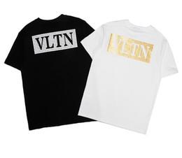 8cc50371d4 letter t shirt men tshirt man summer hip hop streetwear short sleeve t-shirt  womens t shirts camiseta Couple wearing shirt homme