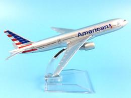 $enCountryForm.capitalKeyWord NZ - 16cm Alloy Metal Air American Airlines Boeing 777 B777 Airways Airplane Model Plane Model W Stand Aircraft Toy Gift