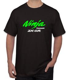 Red Black Kawasaki Zx6r NZ - Kawasaki Ninja ZX6R Motorsports Logo Men's Clothing T-Shirts Tees