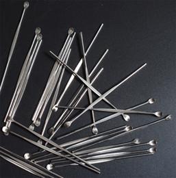 ego tools 2018 - DHL ego evod wax atomizer cig stainless steel dab tool titanium nail Wax dabber tool earpick dry herb vaporizer pen dabb