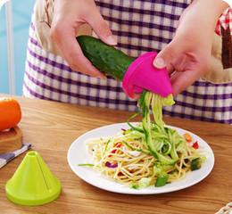 $enCountryForm.capitalKeyWord Australia - Slicer vegetable fruit peeler dicer cutter chopper Kitchen Gadget Funnel Vegetable Carrot Radish Cutter Shred Slicer Spiral Device