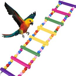 $enCountryForm.capitalKeyWord Australia - Pet Bird Supplies Bird Toy for Parrot Swings Ladders Drawbridge for Pet Training