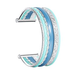 indian bangles accessories Australia - Legenstar Cuff Bangles & Bracelets For Women Zinc Alloy Acrylic Indian Jewelry DIY Fashion Accessories Femme 2019 Pulseras Mujer