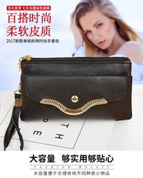 Wholesale New lychee grain soft leather bag for girls single shoulder oblique cross mother bag handheld shopping bags