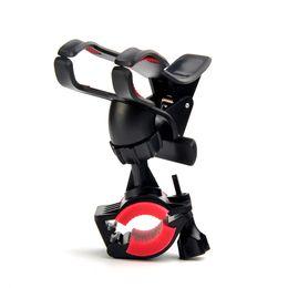 360 Derece Rotasyon Bisiklet Bisiklet Motosiklet Dağı Tutucu Telefon Tutucu Için Silikon Ile iphone 7 XIAOMI GPS