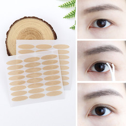 lace double eyelids tape Canada - 3 Style Eyelid Stikers Invisible Eyelid Stiker Lace Eye Lift Strips Double Eyelid Tape Adhesive Stickers Makeup Tool