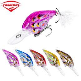 "$enCountryForm.capitalKeyWord Australia - tackle 1PC Ball Crankbait Bass Baits 8cm-3.15\"" 9.38gg-0.33oz Crank Lures 8 Color 4# Hook Fishing Tackle DXC002"