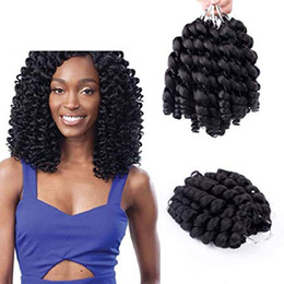 $enCountryForm.capitalKeyWord NZ - Wand Curl Twist Crochet Braids Jamaican Bounce African Synthetic Braiding Hair High Temperature Fiber Synthetic Hair Extensions