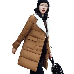 $enCountryForm.capitalKeyWord UK - 2018 fur turn down collar women winter coat female outerwear parka ladies thick warm long jacket slim jaqueta feminina