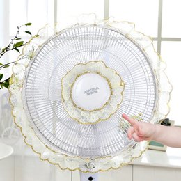 fan guard wholesale UK - Child Finger Guard Mesh Fan Cover Protect Baby Fan Safety Cover Dust Cover Safety Product Home Storage Supplies Other Household Cleaning Too