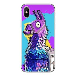 Iphone Back Hot Pink Australia - Popular Game Fortnite Style Phone Case for Iphone X 7P 8P 7 8 6 6sP 6 6s 5 5s se New Arrival Hot Sale Back Cover Phone Case 18 Styles