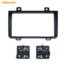 Dash facia online shopping - FEELDO Car Radio Fascia Frame Adapter For TOYOTA Matrix PONTIAC Vibe Stereo Dash Face Plate Facia Panel Trim Kit