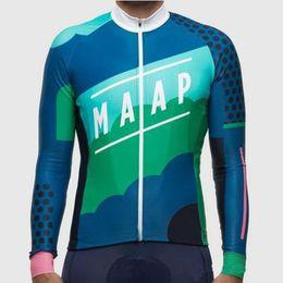 $enCountryForm.capitalKeyWord NZ - Men Cycling Jersey MAAP Team Road Bike Shirt Mtb Bicycle Tops Long Sleeve Racing Clothing Outdoor Sportswear Factory direct sale Y070901
